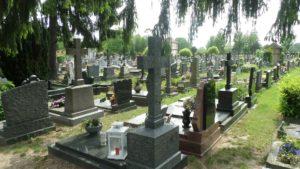Strasbourg (67), cimetière Saint-Gall.