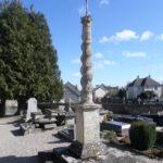 Cambes-en-Plaine (14), cimetière de l'Église.