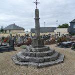 Quincampoix (76), ancien cimetière.
