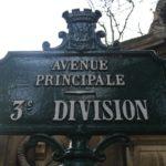 Paris (75), 20è, cimetière du Père-Lachaise : 3è division.