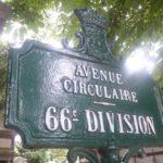 Paris (75), 20è, cimetière du Père-Lachaise : 66è division.