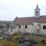 Mériel (95), cimetière ancien.