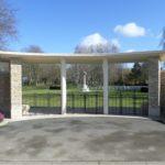 Cambes-en-Plaine (14), cimetière militaire britannique.