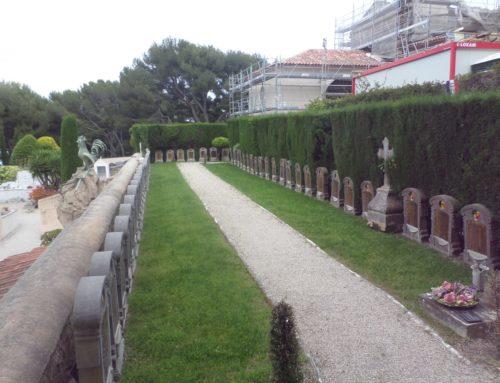 Saint-Jean-Cap-Ferrat (06), cimetière militaire belge.