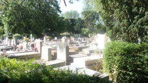 Paris (75), 20è, cimetière du Père-Lachaise : 84è division.