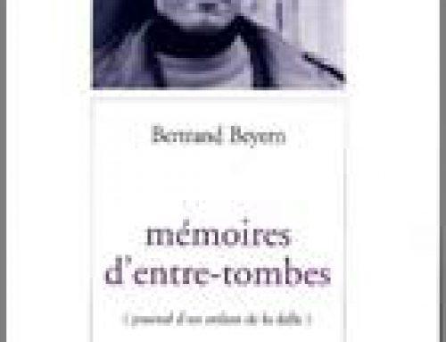 Mémoires d'entre-tombes, journal d'un enfant de la dalle