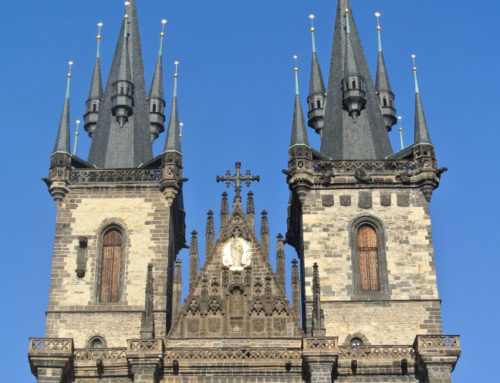 Prague, église Notre-Dame-du-Týn (Chrám Panny Marie před Týnem).