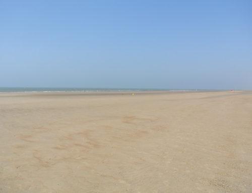 Ostende, plage.