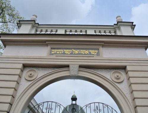 Prague, Nouveau cimetière juif (Nový židovský hřbitov).