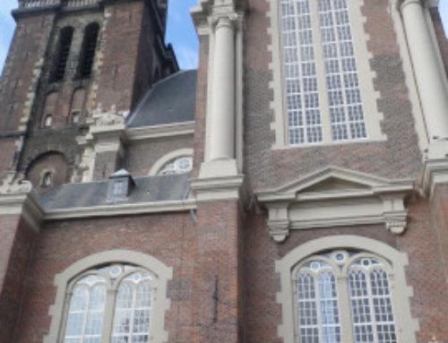 Amsterdam, église de l'Ouest (Westerkerk).