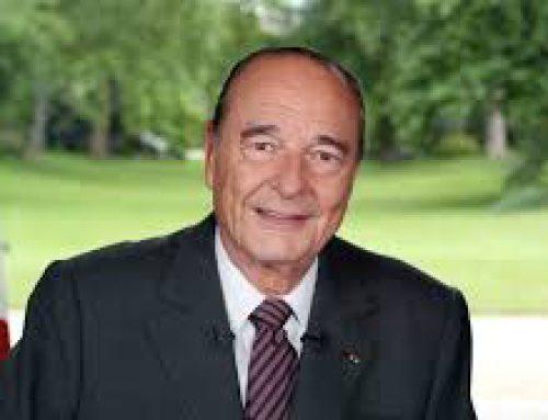 1er octobre 2019 : Le cimetière Montparnasse a accueilli Jacques Chirac.