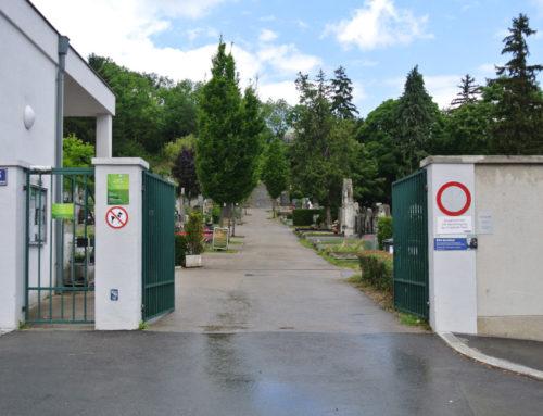 Vienne, cimetière d'Ober-Sankt Veit (Friedhof Ober-St. Veit).