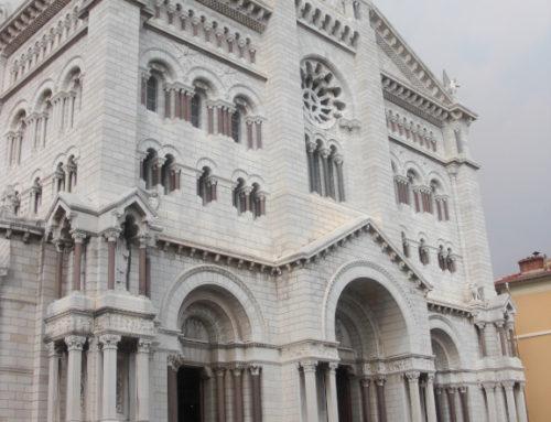 Monaco, cathédrale Notre-Dame-Immaculée.