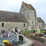 Le cimetière d'Hubert-Folie.