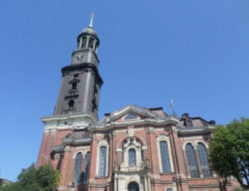 Hambourg, église Saint-Michel (St.-Michaelis-Kirche).