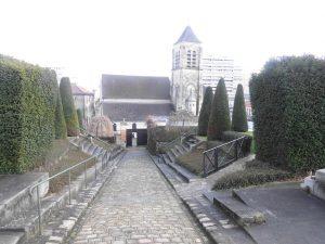Bas du cimetière