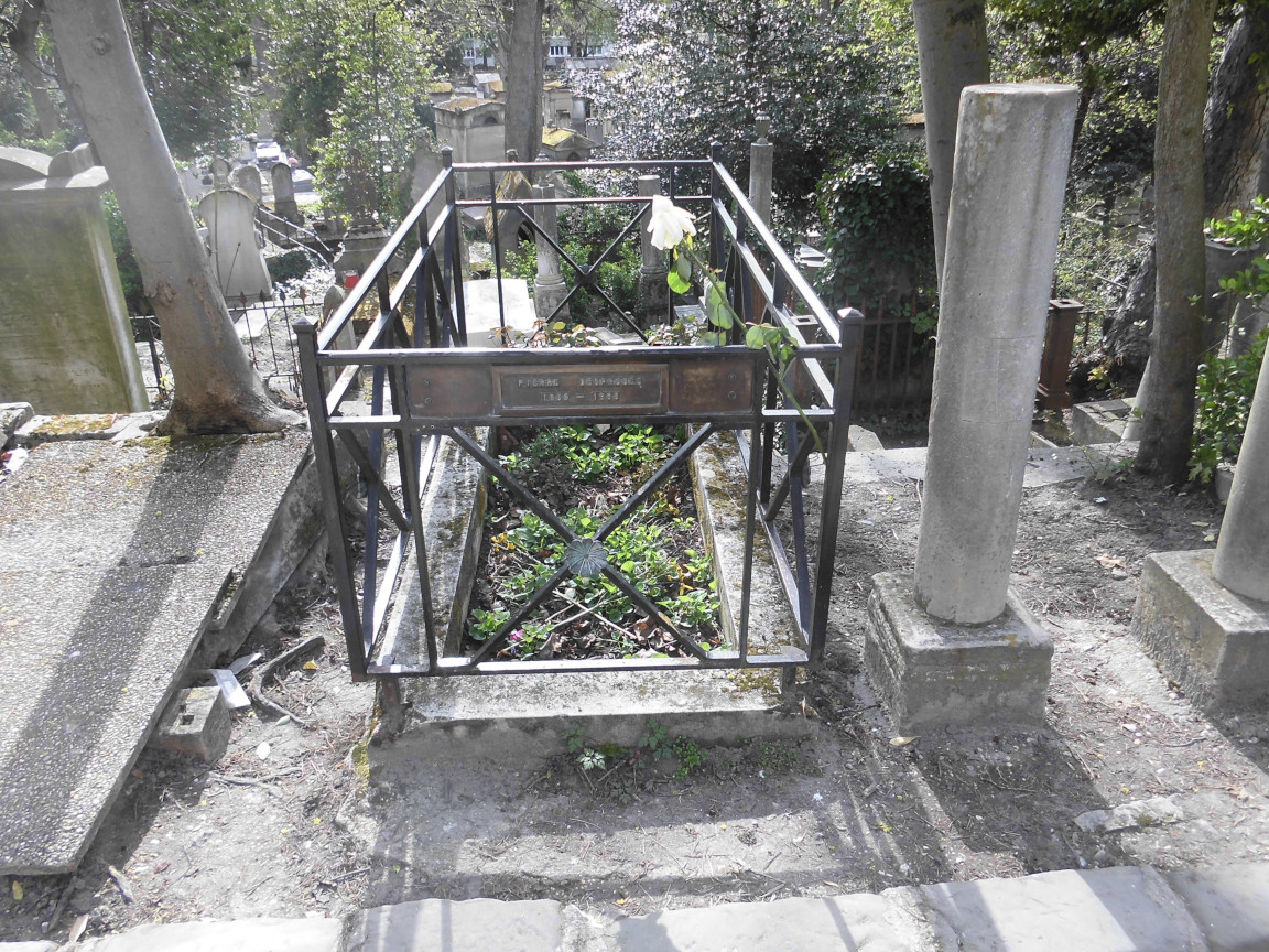 Tombe de Pierre Desproges