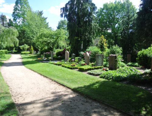 Lübeck, cimetière de la Porte du Château (Lübeck Burgtorfriedhof).