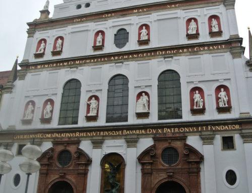 Münich, église Saint-Michel (Jesuitenkirche St. Michael).