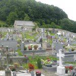 L'humble cimetière de Sainte-Marie-de-Campan