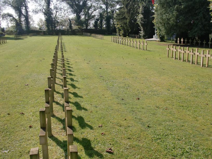 Le cimetière des Français à Dinant