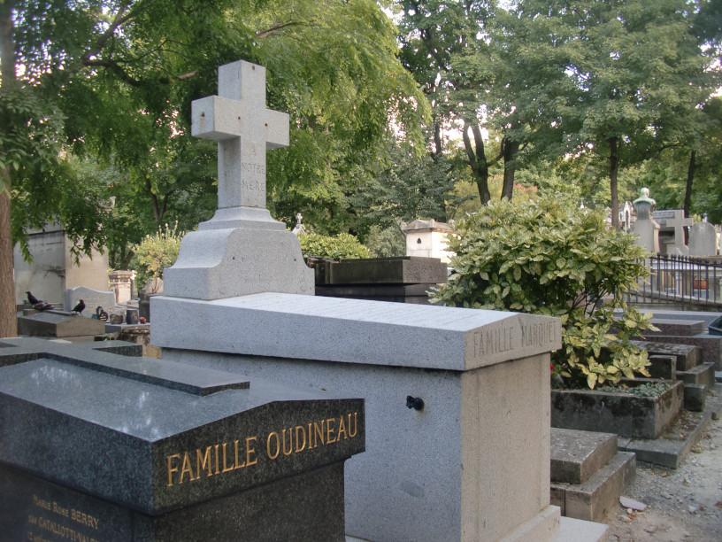 Tombe de Mary Marquet