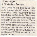 Ouest-France 22 octobre 2012