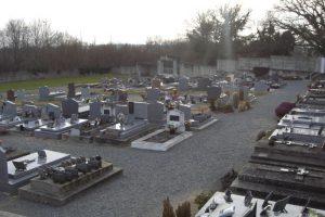 Le cimetière de Culan (partie moderne)